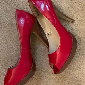 Shoes (red patent leather)